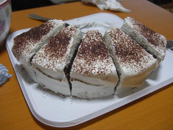 うまかったケーキ